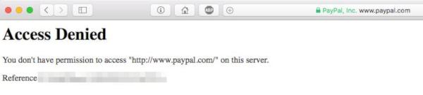 Paypal nie działa