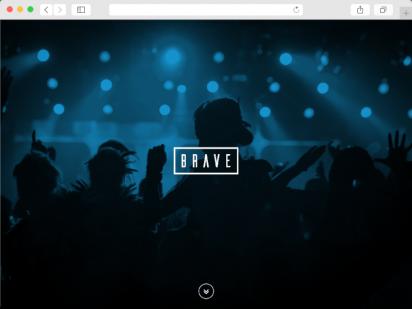 Brave Agency - wdrożenie strony Wordpress