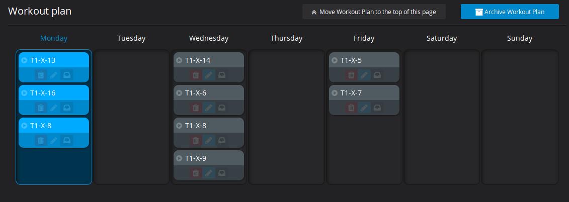 Plan ćwiczeń